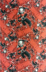 NEW! ANT-MAN SUPERHERO AVENGERS ANT MAN - Fabric 100% Cotton - Price Per Metre